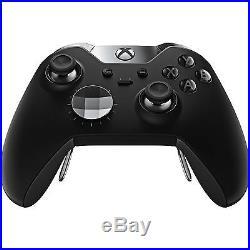 Microsoft Xbox One Elite Controller Genuine (Black) NEW OPEN