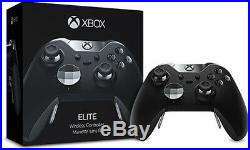 Microsoft Xbox One Elite Controller with Series 2 Paddles Black Complete