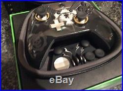Microsoft Xbox One Elite Gamepad, Gears Of War Black And Gold