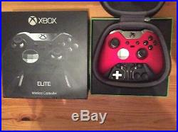 Microsoft Xbox One Elite Gamepad, Red Velvet
