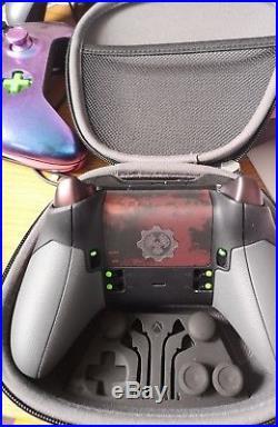 Microsoft Xbox One Elite Gears Of War hybrid Wireless Gaming Controller custom