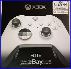 Microsoft Xbox One Elite (HM3-00001) Gamepad White controller
