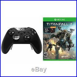 Microsoft Xbox One Elite Platinum Black Wireless Controller & Titanfall 2 Bundle