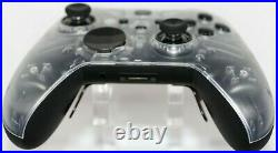 Microsoft Xbox One Elite Series 2 Rapid Fire Modded Controller Transparent Face