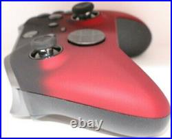 Microsoft Xbox One Elite Series 2 Rapid Fire Modded Controller withRed Shadow Face
