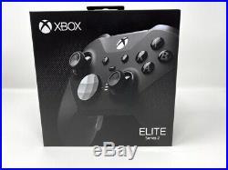 Microsoft Xbox One Elite Series 2 Wireless Controller BLACK SEALED IN BOX