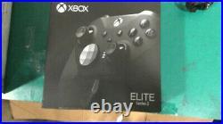 Microsoft Xbox One Elite Series 2 Wireless Controller Black Brand New Seal
