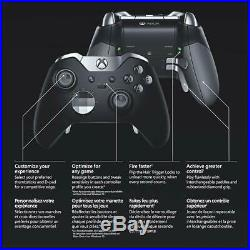 Microsoft Xbox One Elite Wireless Controller & Accessories HM3-00001 Open Box