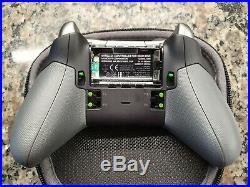 Microsoft Xbox One Elite Wireless Controller Black HM3-00001 In Box