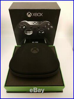 Microsoft Xbox One Elite Wireless Controller Black NOB