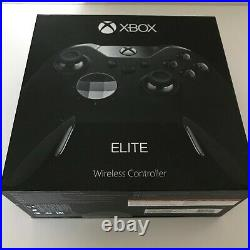 Microsoft Xbox One Elite Wireless Controller Black Special Edition Excellent