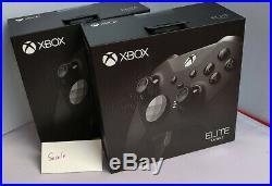 Microsoft Xbox One Elite Wireless Controller Elite Series 2 Black x1 SEALED