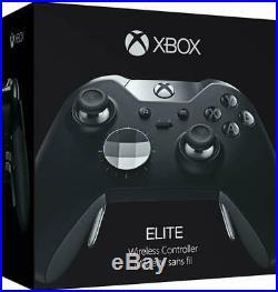 Microsoft Xbox One Elite Wireless Controller HM3-00001 Black Open Box