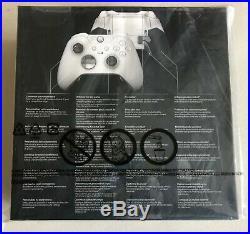 Microsoft Xbox One Elite Wireless Controller Platinum White