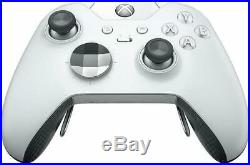 Microsoft Xbox One Elite Wireless Controller Platinum White New