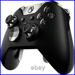 Microsoft Xbox One Elite Wireless Controller Series 1 Black (Refurbished)