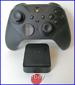 Microsoft Xbox One Elite Wireless Controller Series 2 Gamepad schwarz gebraucht