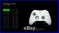 Microsoft Xbox One Elite Wireless Controller WHITE + BRAND NEW+ SPECIAL EDITION