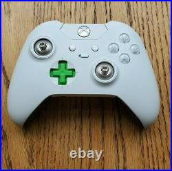 Microsoft Xbox One Elite Wireless Controller White Limited Edition DISENFECTED