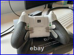 Microsoft Xbox One Elite Wireless Controller White USED Please Read