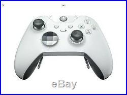 Microsoft Xbox One Elite Wireless Gaming Controller WHITE HM3-00012 SPECIAL ED