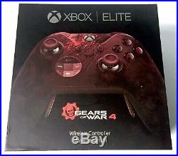 Microsoft Xbox One Gears Of War 4 Limited Edition Elite Controller In Box