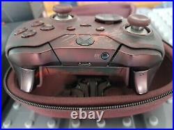 Microsoft Xbox One Gears Of War Elite Controller with Case And All Parts. BOXED