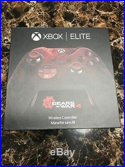 Microsoft Xbox One Gears of War 4 Elite Controller Factory Sealed Excellent Cond