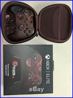 Microsoft Xbox One Gears of War 4 Limited Edition Elite Controller Complete