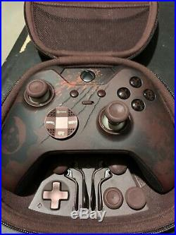 Microsoft Xbox One Gears of War 4 Limited Edition Elite Controller Missing Cable