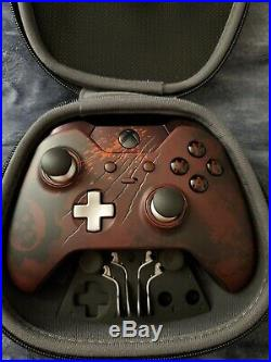 Microsoft Xbox One Gears of War 4 Limited Edition Elite Controller READ