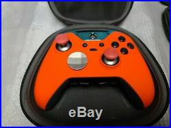 Microsoft Xbox One Orange@Blue Elite Wireless Controller Series 1 With Scuf
