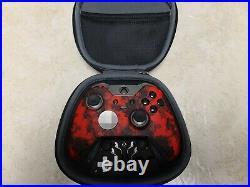 Microsoft Xbox One Red @ Black Elite Wireless Controller Series 1 @ Scuf Grips