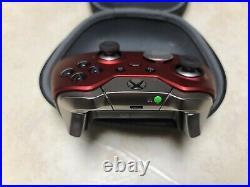Microsoft Xbox One Red Elite Wireless Controller Series 1