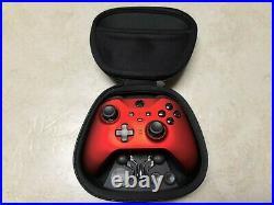 Microsoft Xbox One Red Elite Wireless Controller Series 2