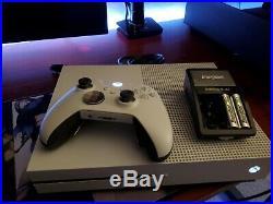 Microsoft Xbox One S 1TB White Console With Elite Controller