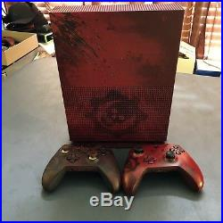 Microsoft Xbox One S 2TB GEARS OF WAR EDITION WITH ELITE CONTROLLER