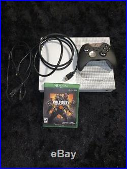 Microsoft Xbox One S 500GB White Console/ Black Ops 4/ Xbox Elite Controller