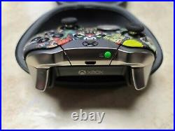 Microsoft Xbox One Scary Party Patterned Elite Wireless Controller Series 1
