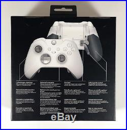 Microsoft Xbox One WHITE Elite Controller LIMITED WithScuf Pro Elite Installed