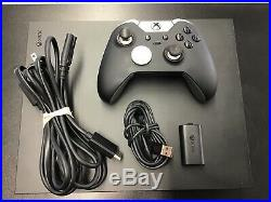 Microsoft Xbox One X 1787 1tb Black Console With Elite Controller & Cords (cn50)