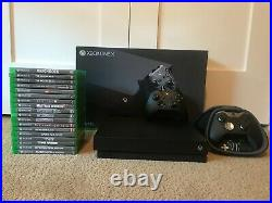 Microsoft Xbox One X 1TB Console Bundle 18 GAMES and ELITE Controller