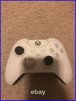 Microsoft Xbox One X 1TB Console with White Elite Controller and 12 Games