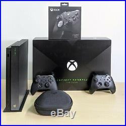 Microsoft Xbox One X Project Scorpio Edition Elite Controller Series 2 Console