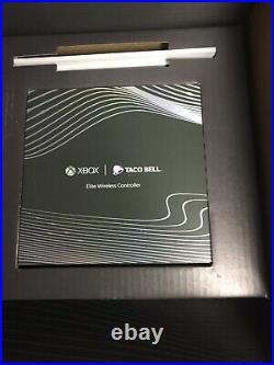 Microsoft xbox one x Platinum Taco Bell Edition Sealed Complete Elite Controller