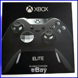 NEU! Wireless Controller Microsoft Xbox One Elite schwarz ausgepackt