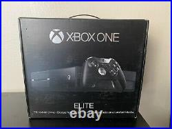 NEW Microsoft Xbox One Elite Bundle 1TB Black Console