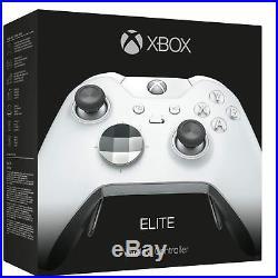 NEW Microsoft Xbox One Elite Wireless Controller Platinum White