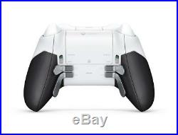 New Microsoft Xbox One Elite Controller Weiss/ White Special Edition JAPAN F/S