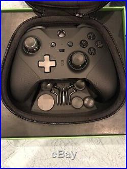 New Microsoft Xbox One Elite Wireless Controller Series 2 Black